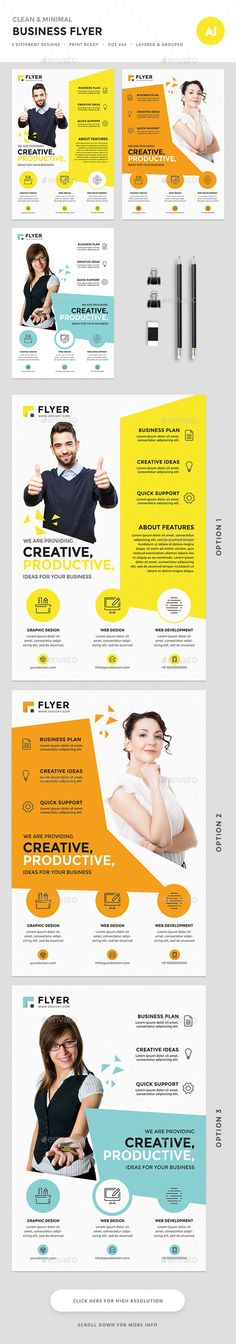 Corporate Flyer Psd templates, Promotion and Template - corporate flyer template