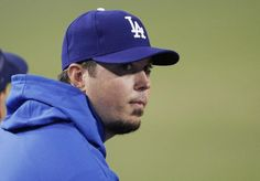 Josh Beckett allowed a home run to the first batter he faced as a member of the Dodgers. You can't make this stuff up!