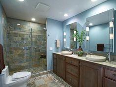 Romantic Bathroom Lighting Ideas | Bathroom Design - Choose Floor Plan & Bath Remodeling Materials | HGTV