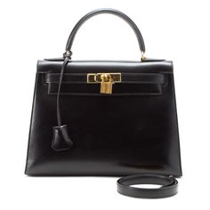 Hermes Kelly 28 In Black.