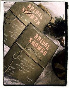 Bridal Shower / wedding invitation / rustic/ country/ Farm / Outdoor / chalkboard Invitation on Etsy, $4.50 CAD