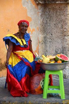 bojrk:  Palenqueras, Cartagena, Colombia