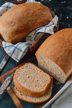 Perfect Whole Wheat Bread, by thewoksoflife.com