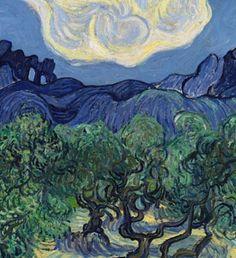 Vincent van Gogh Landscape with Olive Trees art painting for sale; Shop your favorite Vincent van Gogh Landscape with Olive Trees painting on canvas or frame at discount price. Art Van, Van Gogh Art, Painting Prints, Painting & Drawing, Art Prints, Canvas Prints, Matte Painting, Sketch Drawing, Van Gogh Olive Trees