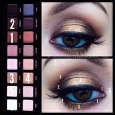 Lorac PRO palette eyeshadow pictorial