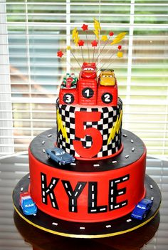 Cars  Birthday Party Guest Feature Cars Cake And Birthdays - Birthday cake cars 2