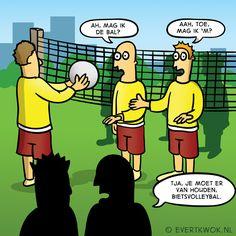 Tja je moet er van houden. #cartoon