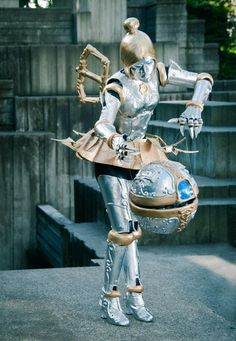 This Orianna from League of Legends cosplay always gets lots of love. Classic.