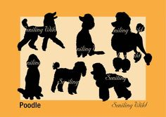 Poodle svg silhouette dog clipart cut out vector graphic art   Etsy Autocad, Image Sheet, Dog Silhouette, Commercial Art, Cricut Creations, Custom Logos, Digital Image, Printable Art, Graphic Art