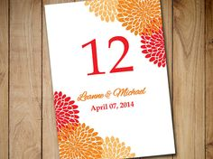 chrysanthemum wedding place cards template wedding escort card