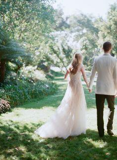 Photography: Elizabeth Messina - kissthegroom.com Wedding Dress: Monique Lhuillier - moniquelhuillier.com