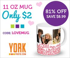 Valentine's Day Mug for only $2
