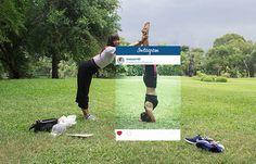 A grama do vizinho nem sempre é mais verde. Essa série mostra a realidade e a produção que pode existir por trás de cada foto no Instagram.