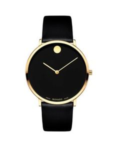 Movado Men's Men's Museum Dial 70Th Anniversary Special Edition Watch - Black - One Size