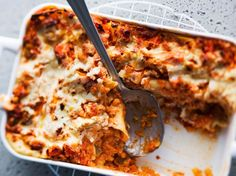 Kasvislasagne Vegetable Lasagne, Toddler Meals, Toddler Food, Veggie Recipes, Veggie Food, Ricotta, Mozzarella, Lasagna, Quiche