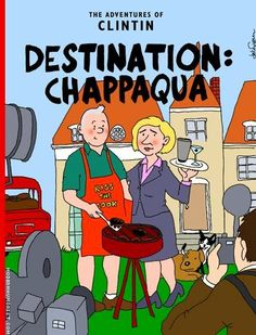 Les Aventures de Tintin - Album Imaginaire - Destination Chappaqua