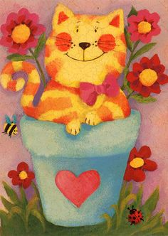 Flower Pots by Patricia MacCarthy