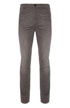 Grey Stretch Slim Fit Jeans