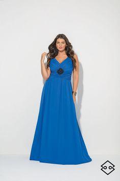 One Shoulder, Plus Size, Elegant, Formal Dresses, Summer, Fashion, Dapper Gentleman, Dresses For Formal, Moda