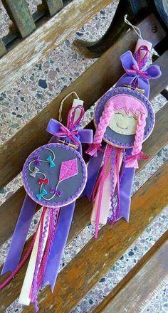 ΠΑ Easter Candle, Palm Sunday, Holiday Time, Diy Projects To Try, Easter Crafts, Dyi, Diy And Crafts, Greeting Cards, Xmas