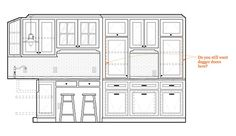 Laundry room Drawing Interior, Interior Design Sketches, House Layouts, Architecture Details, Backsplash, Laundry Room, Floor Plans, Mudroom, Building