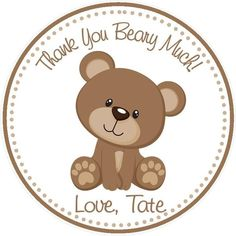 Items similar to Teddy Bear Party Favor Tags ( Set of 12 ) Teddy Bear Birthday - Teddy Bear Shower Favors - Bear Baby Shower Favors on Etsy Fiesta Baby Shower, Baby Shower Party Favors, Boy Baby Shower Themes, Shower Gifts, Baby Shower Oso, Teddy Bear Baby Shower, Teddy Bear Birthday, Bear Party, Goody Bags