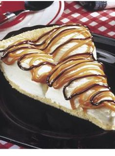 Reeses Ice Cream Pie - At Home With My Honey