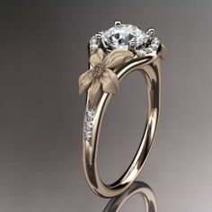 If I ever get married, I want this to be my ring. This with a wedding band made of tinny diamonds made into flowers.