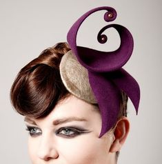 Hatastic handmade fascinators – I love this curly wurly one! – Hats for lady