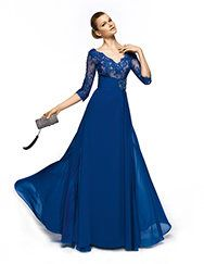 Pronovias presents the Zulema cocktail dress from the Matron of Honor 2013 collection.   Pronovias...mother of bride!