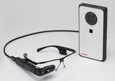 Toshiba Unveils dynaEdge AR Smart Glasses Powered by a Portable Windows Mini PC