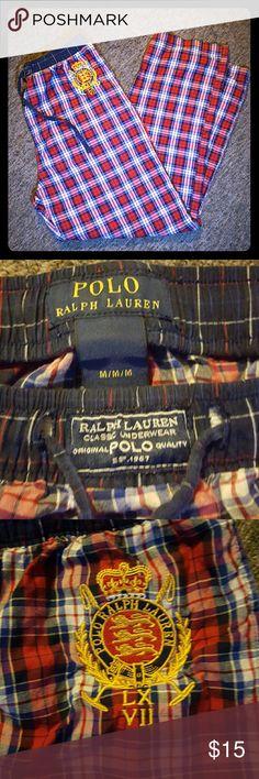 Amazing Ralph Lauren Pajama Bottoms!!!! Just Amazing With No Damages & Drawstrings Intact!!!! Ralph Lauren Pants