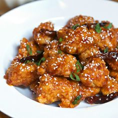 Instead of take-out, make General Tso's Chicken at home.