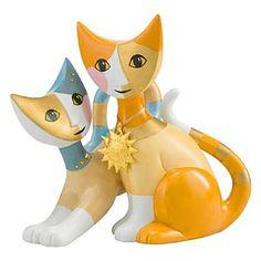 Serena e floriano Annual cat ornament