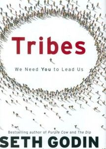 """""""Tribes"""" by Seth Godin - such a great book on leadership/entrepreneurship/marketing. Seth Godin, Reading Lists, Book Lists, Social Media Books, Books To Read, My Books, Kindle, Non Fiction, We Need You"""