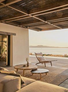 Design Exterior, Interior And Exterior, Stone Interior, Style At Home, Outdoor Spaces, Outdoor Living, Outdoor Decor, Casa Wabi, Studio Build