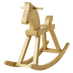 Kay Bojesen Wooden Rocking Horse by Rosendahl   Stardust