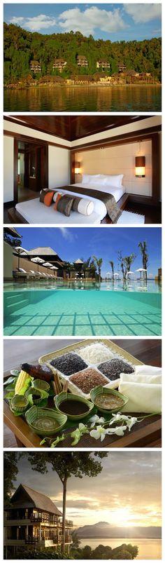 Honeymoon of our dreams. Gaya Island Resort, Borneo.