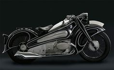 BMW R7 /// 1934, by design engineer Alfred Böning.
