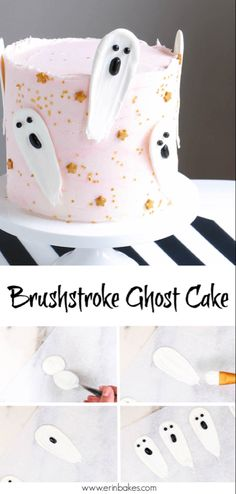 Awesome Picture of Halloween Themed Birthday Cakes . Halloween Themed Birthday Cakes 62 Easy Halloween Cakes Recipes And Halloween Cake Decorating Ideas Halloween Cake Pops, Halloween Desserts, Halloween Torte, Bolo Halloween, Halloween Birthday Cakes, Pink Halloween, Halloween Ghosts, Halloween Treats, Halloween Cake Decorations