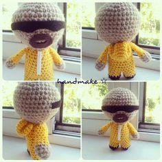 You're Goddamn Right !  #handmake #handmade #crochet #amigurumi #handsomeboy #walterwhite #breakingbad #toy #etsy #etsyfind #gift #волтервайт #брейкинбэд #вовсетяжкие #амигуруми #ручнаяработа #игрушка #сувенир