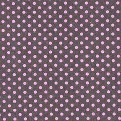 kankaita.com Cotton Dots Feliz Small 5 - Puuvilla - harmaa