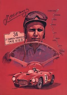 Juan Manuel Fangio, Ferrari and the classic race Carrera Panamericana