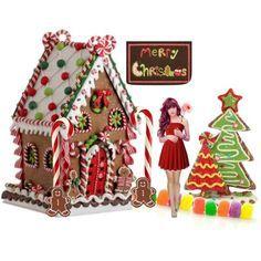 gingerbread dollhouse - Google Search