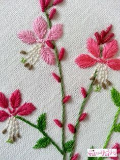 Liked on Pinterest:  뮤즈 South Korea Embroidery