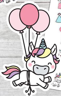 Unicorn Fantasy, Unicorn Horse, Unicorn Art, Cute Unicorn, Kawaii Drawings, Cute Drawings, Unicorn Illustration, Cute Kawaii Animals, The Last Unicorn