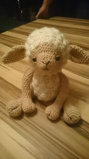 Lemmy the sheep PDF without images PDF with images Materials: . Lemmy the sheep PDF without pictures PDF with pictures Materials: wool in cream (LL / beige (LL / Woodland Party, Drops Design, More Fun, Sheep, Knit Crochet, Crochet Patterns, Teddy Bear, Wool, Knitting