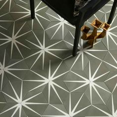 Buy Lilypad Hex Clay Encaustic Tiles from The Stone Tile Warehouse tile showroom in Maidstone Kent. Call us today for info on 01622 679157 Hall Flooring, Stone Flooring, Entryway Flooring, Tiled Hallway, Tile Stairs, Hexagon Tiles, Hexagon Shape, Tile Warehouse, Decor Pad