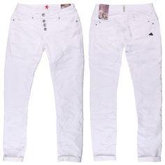 #Damen Buena Vista Jeans Malibu Stretch Denim white, 04055989077914