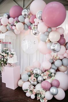 Quinceanera Party Planning – 5 Secrets For Having The Best Mexican Birthday Party Balloon Garland, Balloon Decorations, Birthday Party Decorations, Baby Shower Decorations, Birthday Parties, Balloons, Wedding Decorations, Pastel Party Decorations, Balloon Backdrop